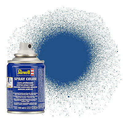 Spray blau, matt - Bild 1